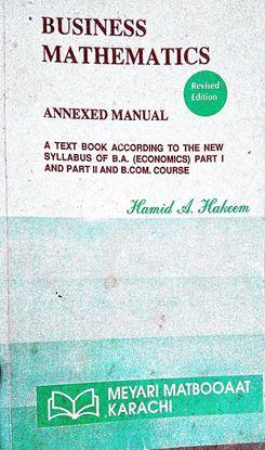 Business Mathematics Revised Edition