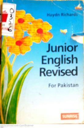 Picture of Junior English Revised